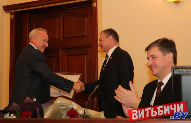 Виктор Николайкин награждён Почётной грамотой Витебского областного исполнительного комитета