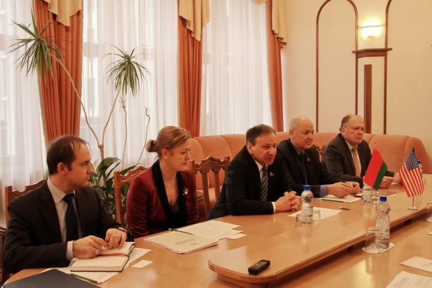 Встреча парламентариев с представителями Министерства торговли США